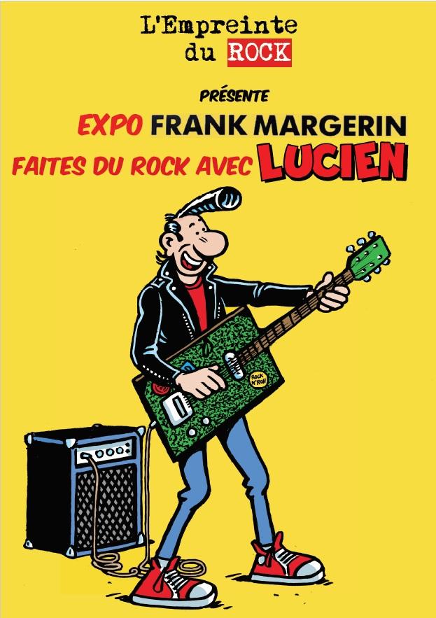 Affiche avec texte expo faites du Rock Margerin
